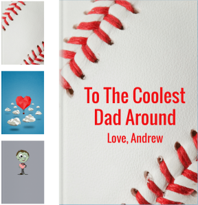 Personalized Fathers Day Gifts - LoveBook Covers