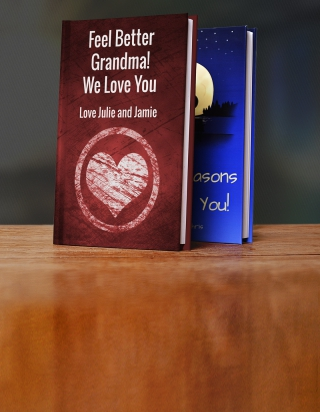 Get Well Personalized Gifts by LoveBook
