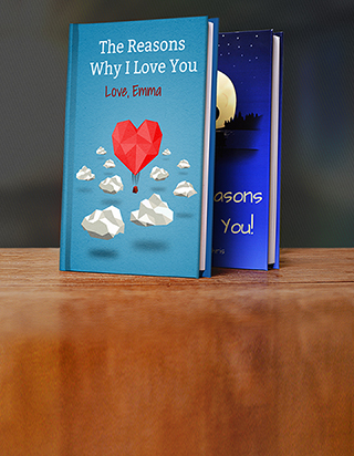 Romantic Personalized Gifts by LoveBook