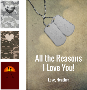 Personalized Military Gifts - LoveBook Covers