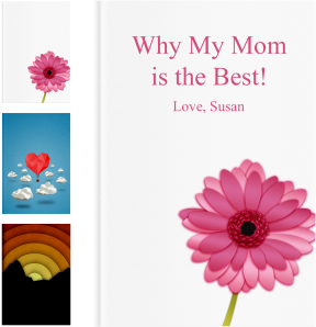 Personalized Mothers Day Gifts - LoveBook Covers