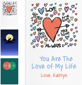 Personalized Wedding Gifts - LoveBook Covers